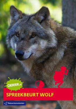 Spreekbeurt voor OERRR over de wolf