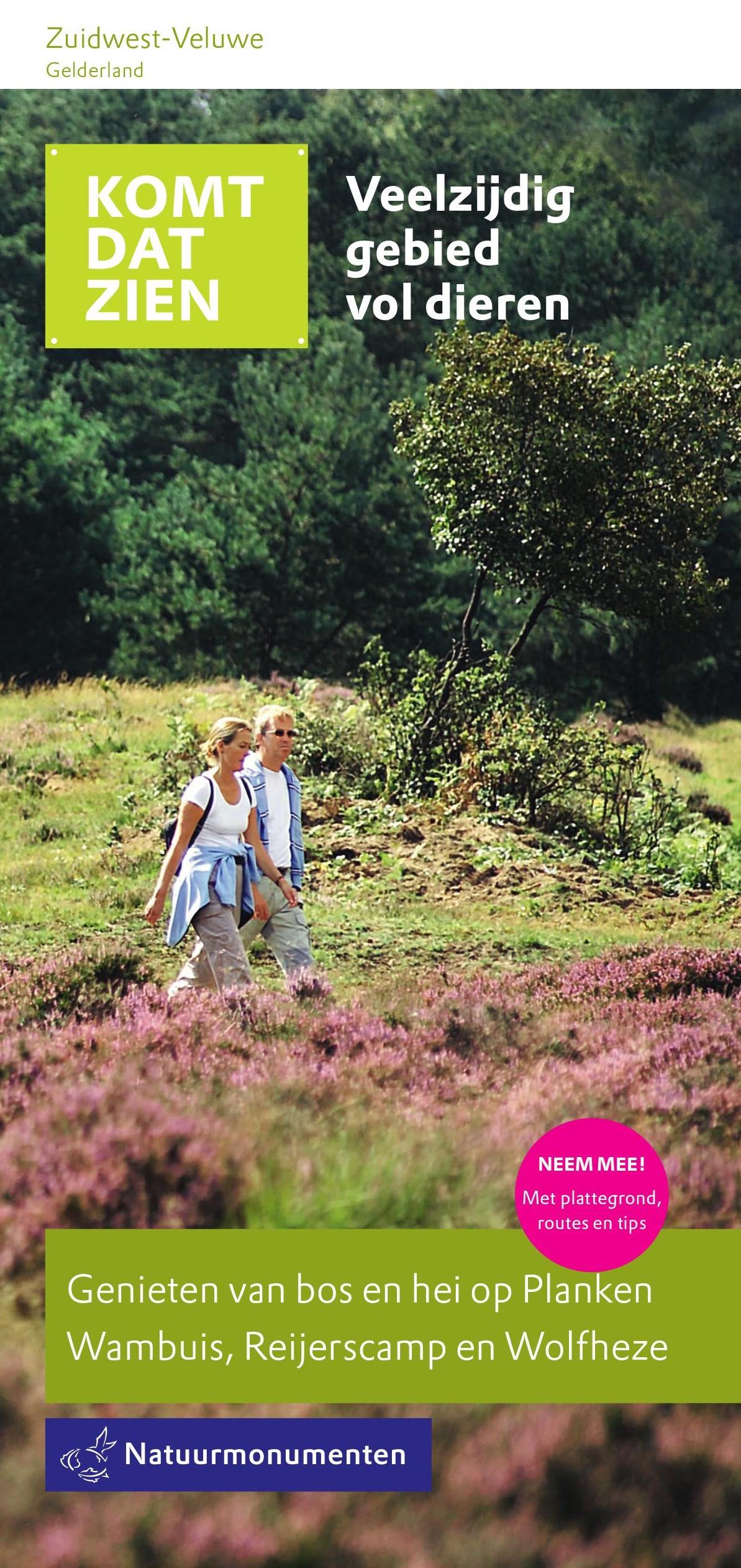 Folder Natuurmonumenten Zuidwest-Veluwe