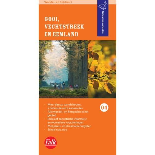 Wandel- en fietskaart Natuurmonumenten - Gooi, Vechtstreek en Eemland